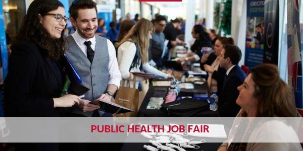 Students Attend Public Health Job Fair
