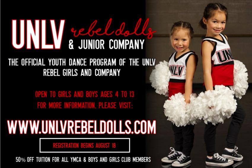 UNLV Rebel Dolls poster