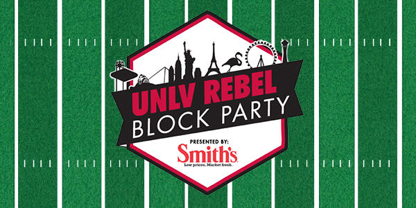 Utep Calendar.Unlv Vs Utep Rebel Block Party Calendar University Of Nevada