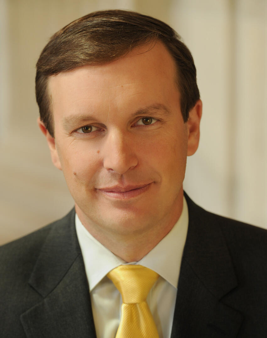 Official portrait of Senator Murphy