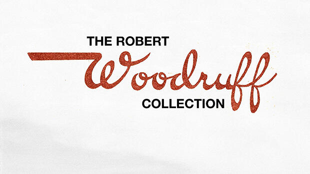 The Robert Woodruff Collection title slide