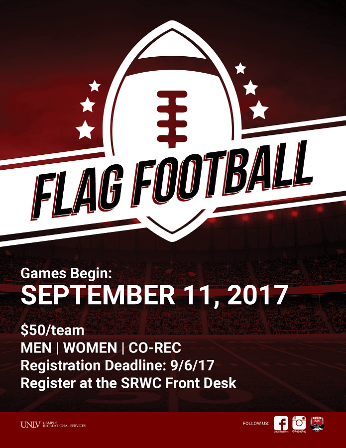 Intramural Flag Football Deadline  fa510c927