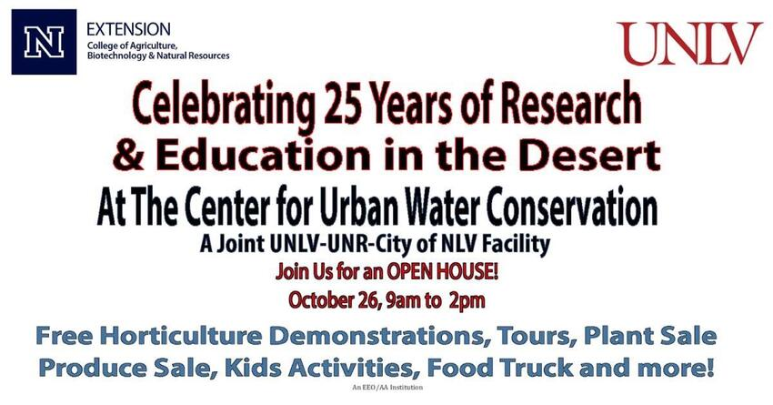 Celebrating 25 Years of Research & Education in the Desert: See description for details.