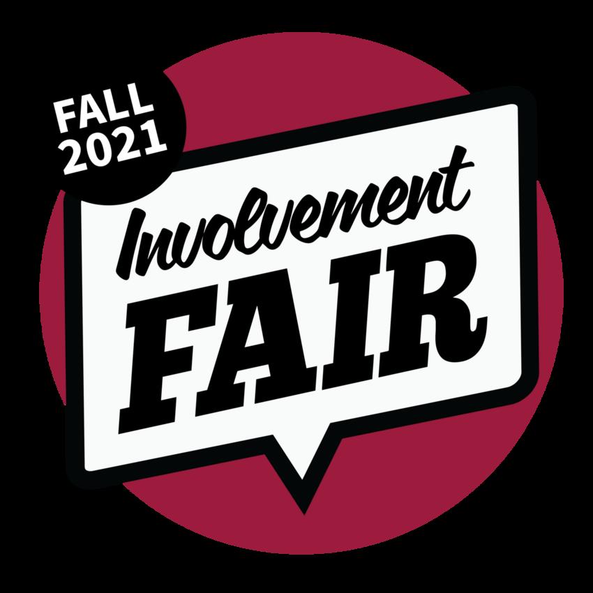 Involvement Fair Fall 2021 logo