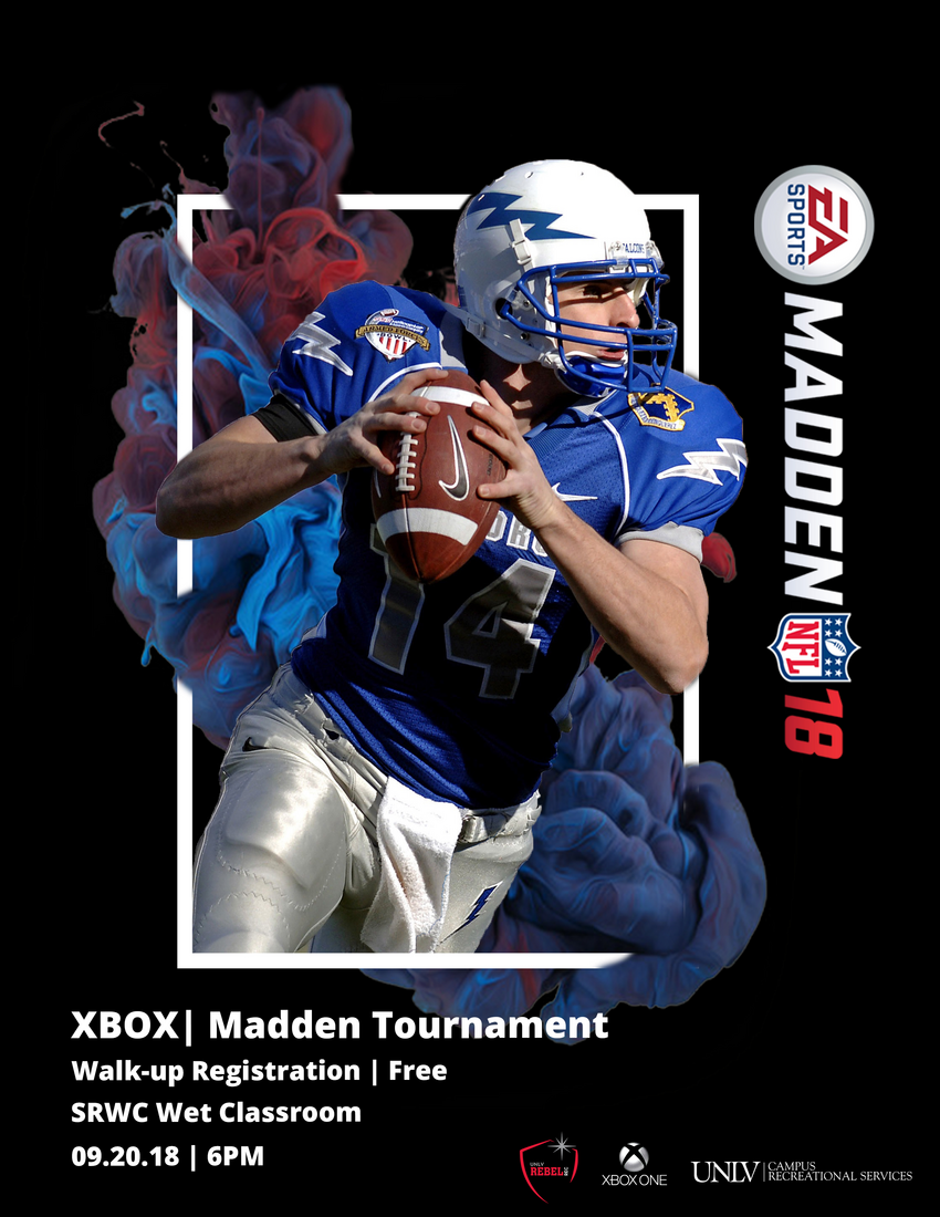 Madden Tournament Poster