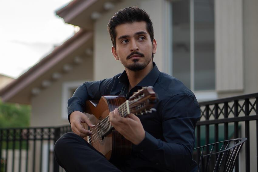 Classical Guitar Student Parsa Sabet