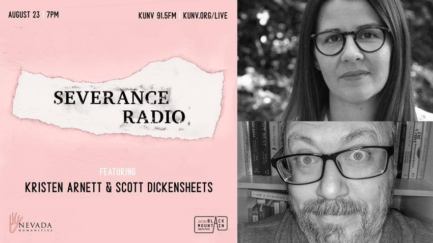 Severance radio with images of their guests