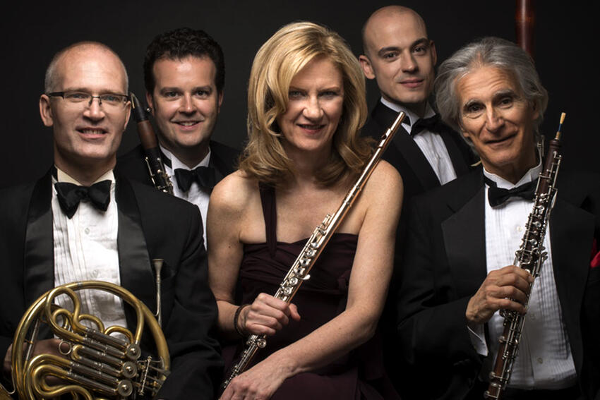 Dorian Wind Quintet promotional photo
