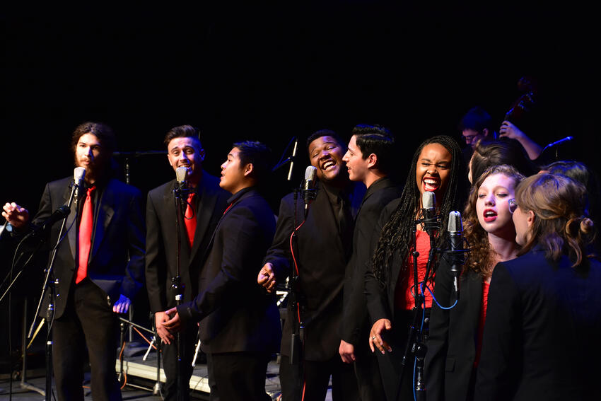 UNLV Jazz Vocal Ensemble