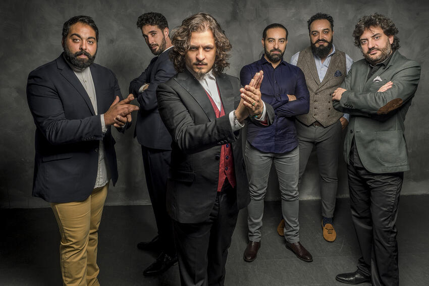 Performers with the Paco de Lucia Project