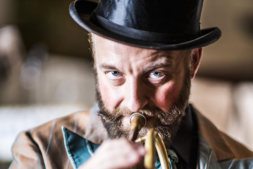 Photo - Mnozil Brass Trumpet Player