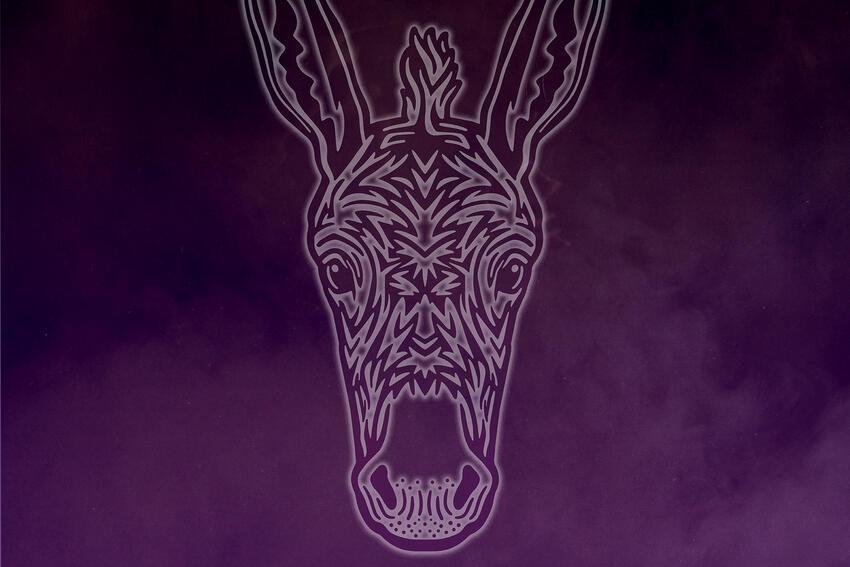 Horse on a Purple Field