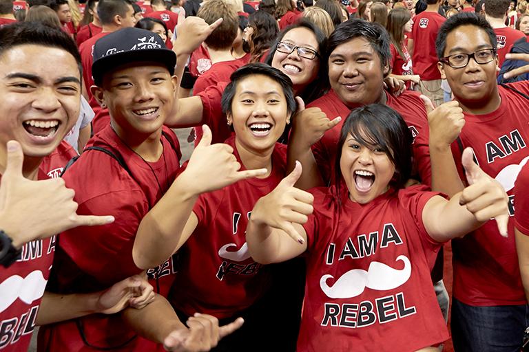 Freshmen from Hawaii